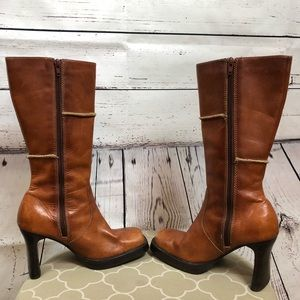 Seychelles high quality tan leather boots